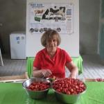 Christiane Stein bei der Arbeit
