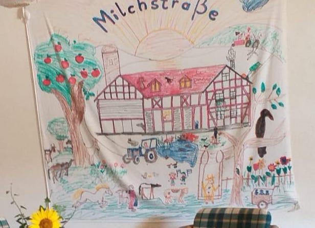 """Unser Hof """"auf der Milchstraße"""""""